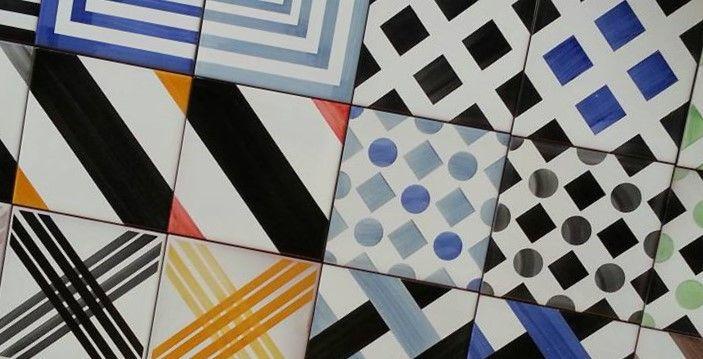 Piastrelle collezione geometrie designe geometrie rivestimenti