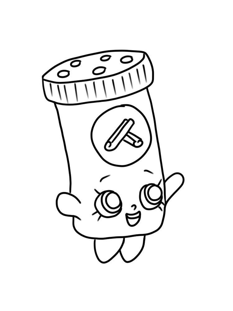 Shopkins Season 6 Cinnamon Sally Pdf. Shopkins Are Tiny Plastic Collectible  Toys Produced By Australian … Coloring Pages, Shopkins Season, Shopkins  Colouring Book