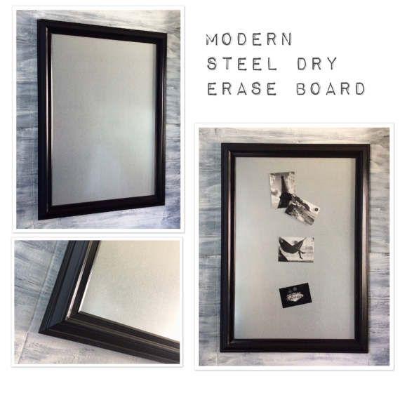 BLACK FRAMED Dry Erase Board 41\