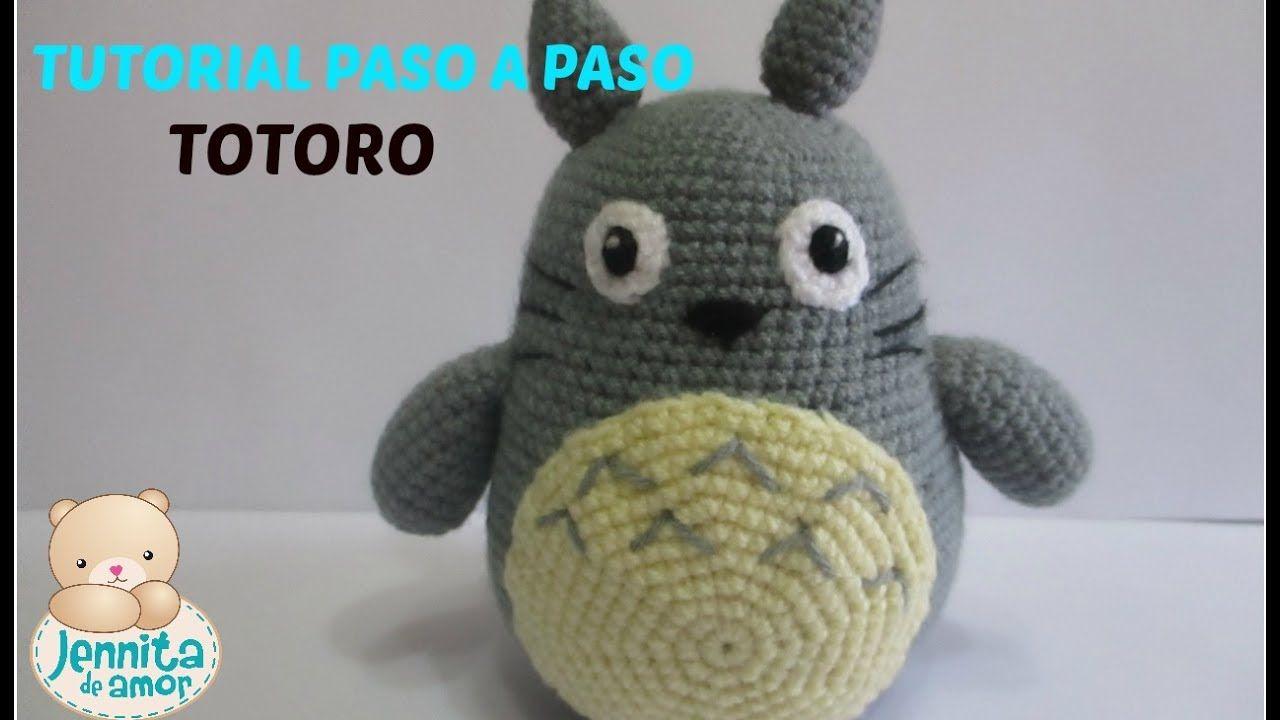 TOTORO   Totoro   Pinterest   Totoro, Patrones amigurumi y Me encantas