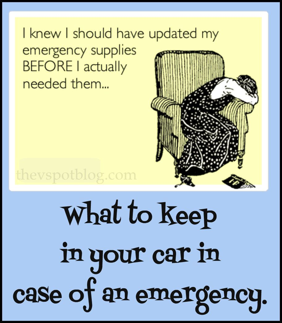 Insurance Quotes First Car: Basic Emergency Supplies You Should Keep In Your Car.