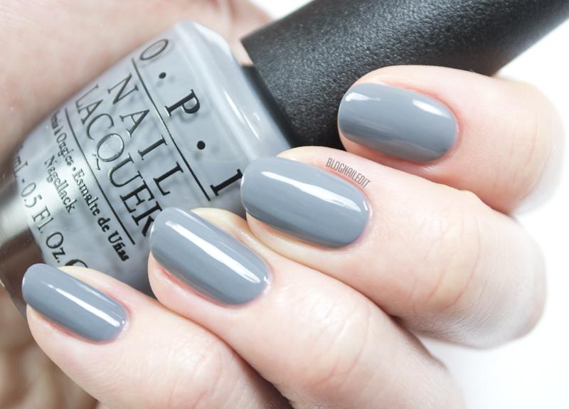 OPI - Embrace the Gray | Nails | Pinterest | Gris y Plata