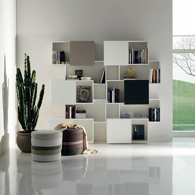 tag res design pour ranger vos livres avec l gance deco design pinterest deco. Black Bedroom Furniture Sets. Home Design Ideas
