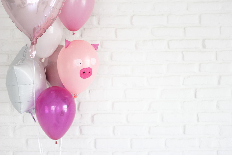 Valentine Hog Balloons DIY   Valentine's Day   Balloon Time
