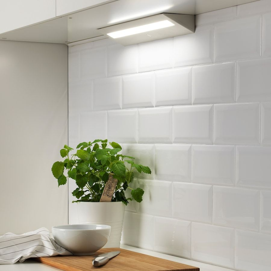 Slagsida Eclairage Plan Travail A Led Blanc 40 Cm Ikea En 2020 Plan De Travail Cuisine Ikea Eclairage