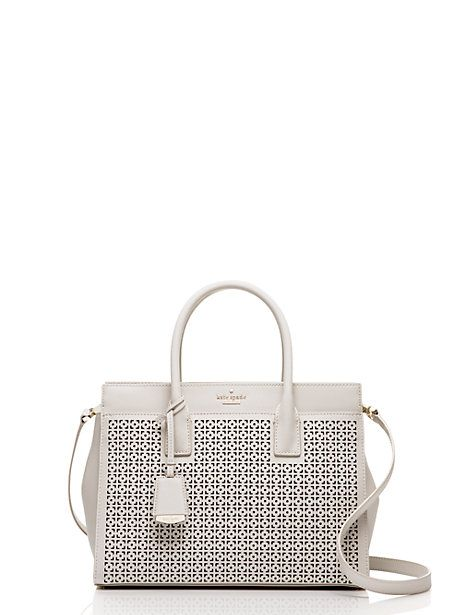 adeef56cf4 Cameron street perforated Candace satchel