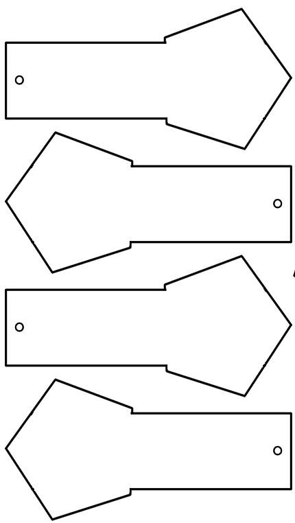 Grundformen Lapbook Vorlagen Blanko Click 0