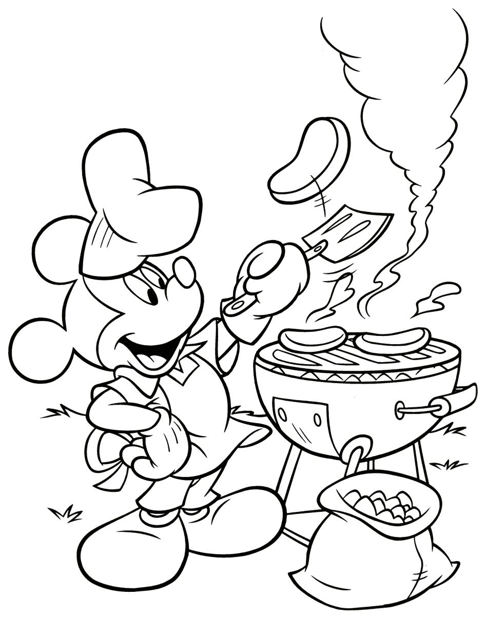 Mickey mouse pub colorir pinterest coloring pages disney