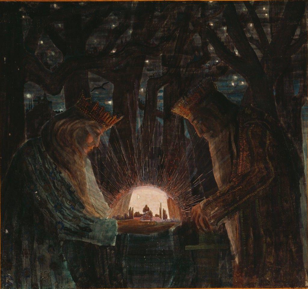 FAIRY TALE (FAIRY TALE OF KINGS) 1909. Gallery | M. K. Čiurlionis ...