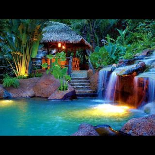 The springs resort and spa at Arenal Fortuna,Costa Rica