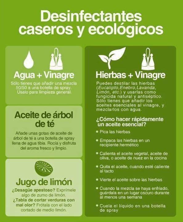 Desinfectantes Caseros Y Ecologicos Productos De Limpieza