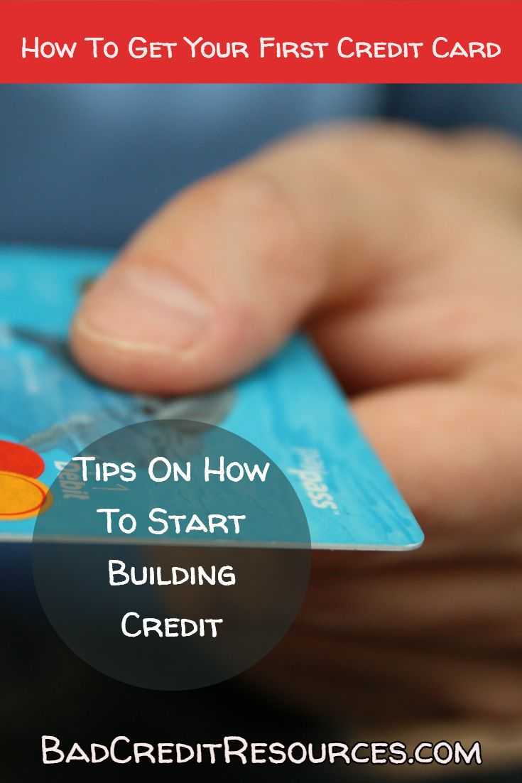 Time to get your first credit card? Don't get overwhelmed