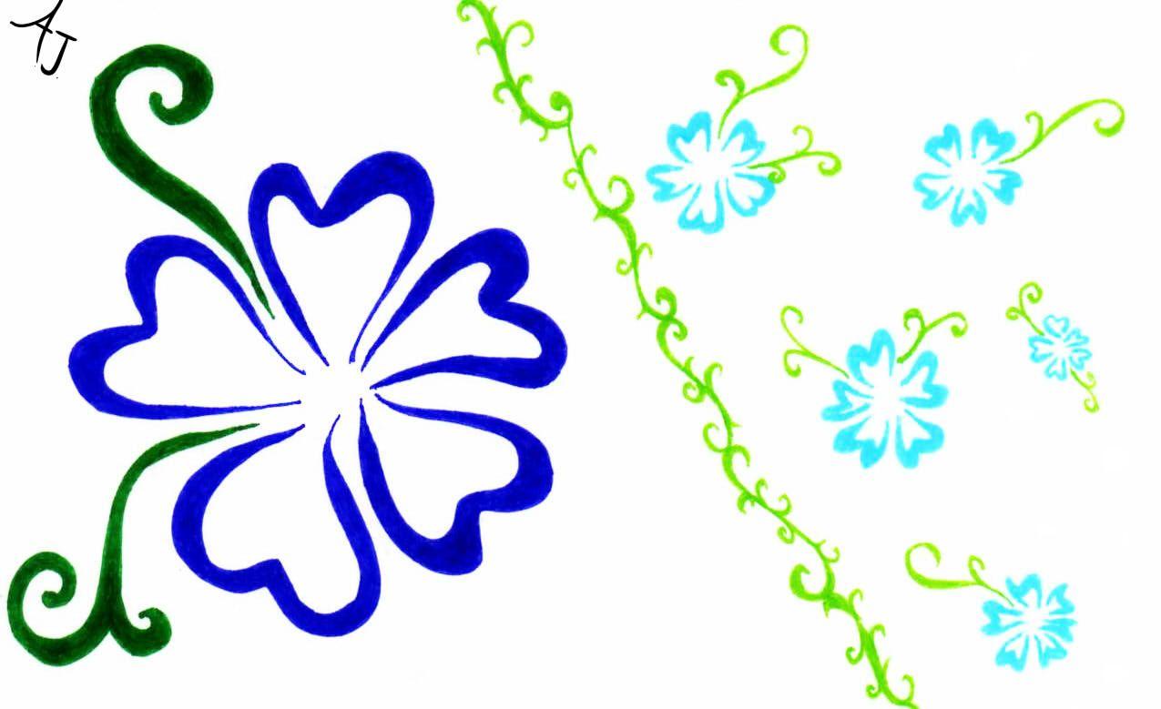 free clip art tropical borders hawaiian flowers clipart gallery rh pinterest com clip art gallery free clipart gallery free download