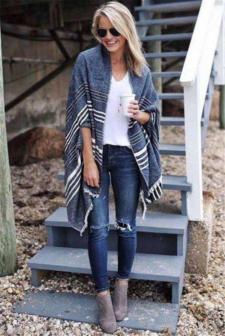 60 Trendy And Fashionable Fall Outfits You Should Try This Year – Page 22 of 60