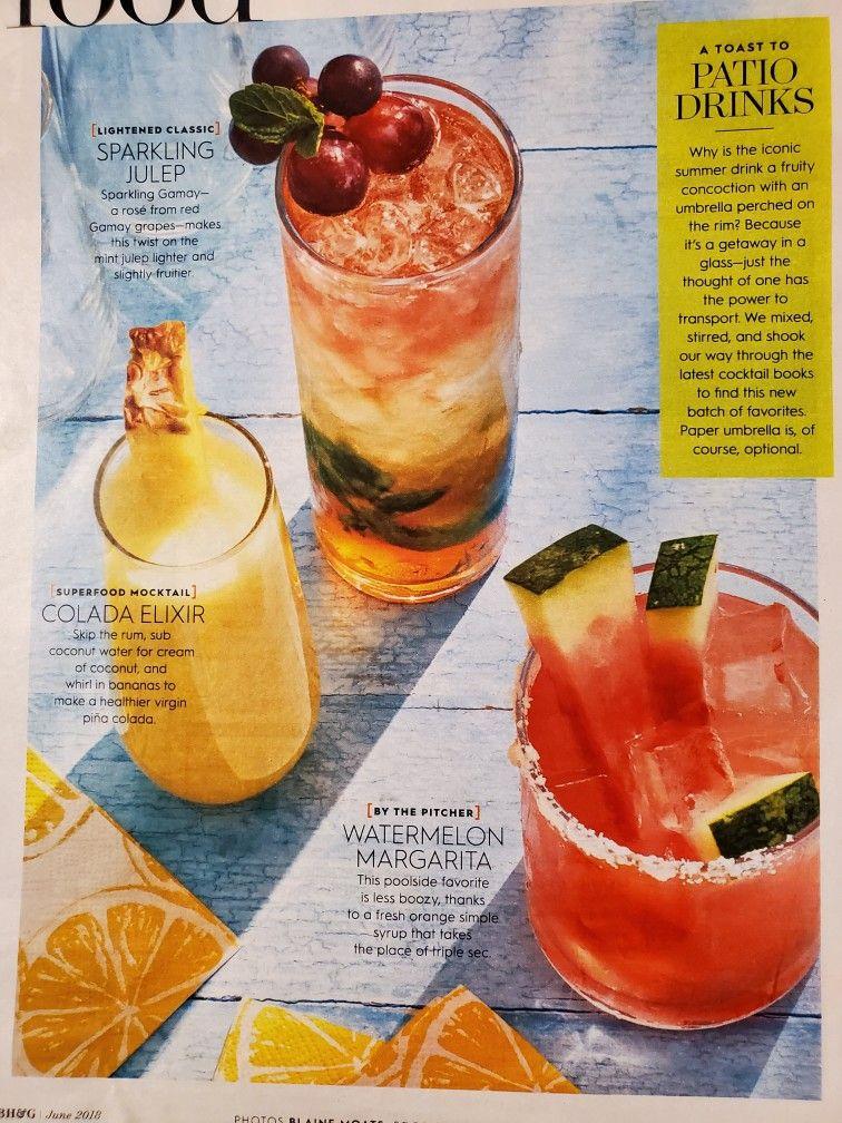Pin by Marci Ellis on drinks Summer drinks, Watermelon