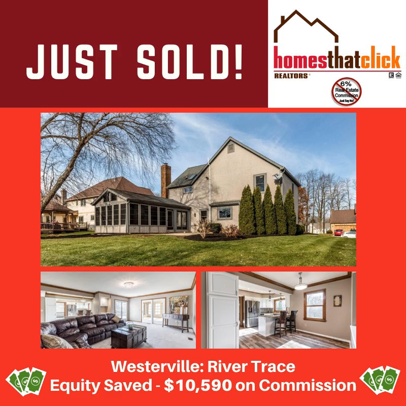 💥 S-O-L-D 💥 • Are YOU ready to be next? •⠀ #realestate #sold #westerville #rivertrace #sellyourhomefast #savemoney #homegoals #debharr #homesthatclick #wanttomove