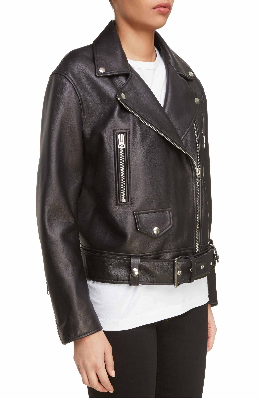 01ef0c481 Main Image - ACNE Studios Merlyn Leather Moto Jacket | style ...