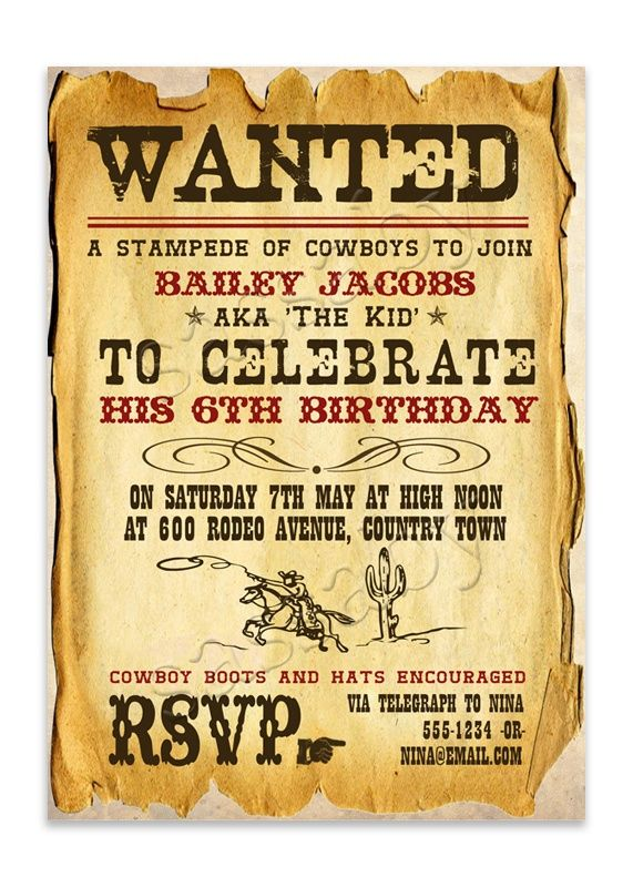 Old West Party Invitations To Be Inline With The Christmas Party Invitations Western Christmas Party Western Christmas Party Invitations Wild West Party