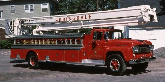 1959 Ford/Young Snorkel Truck.....