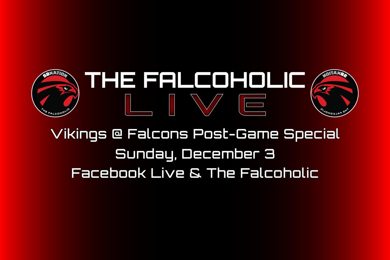 Live Vikings Falcons Post Game Special Nfl News Falcons Recap