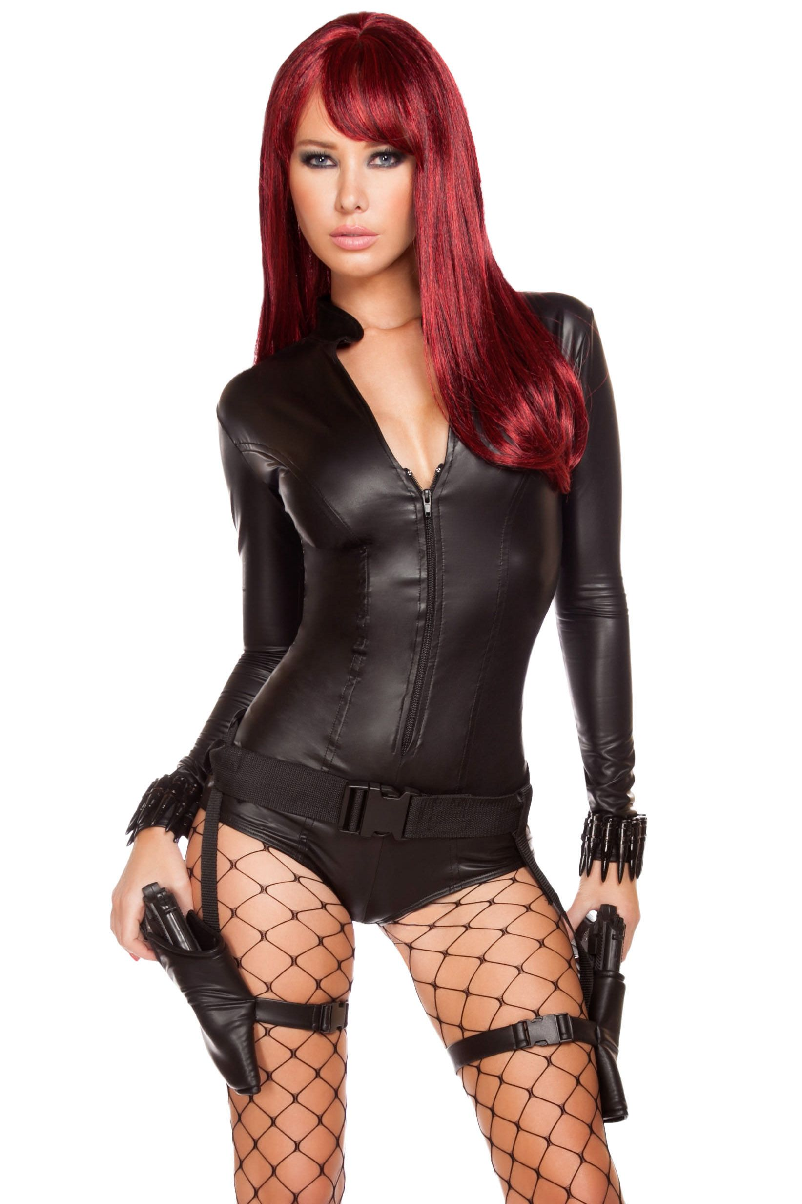 Hot Hitwoman Costume | Women's Halloween Costumes at LD ...