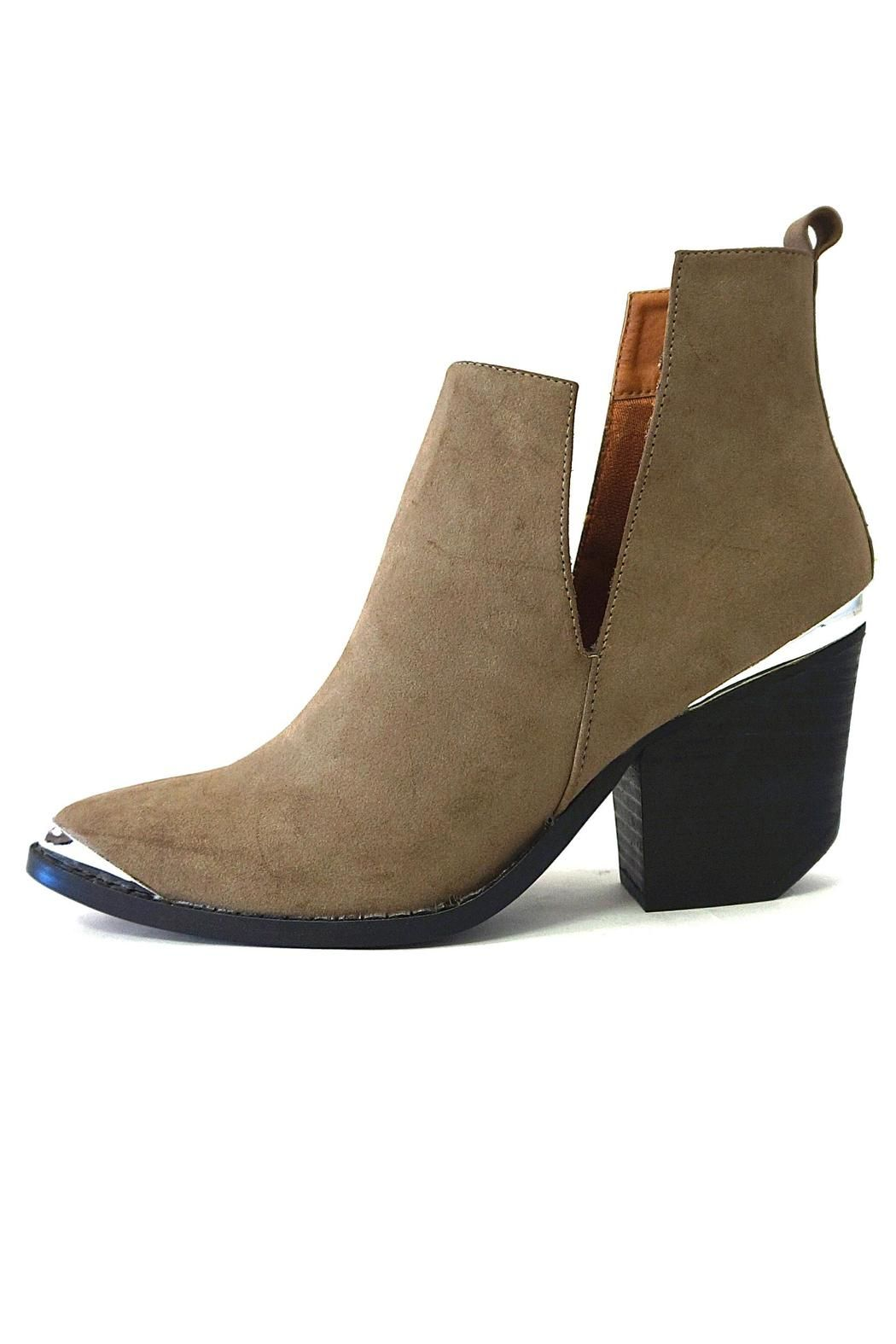 Ellie Boot Taupe  - main