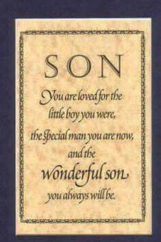 Wonderful Son Happy 21st Birthday
