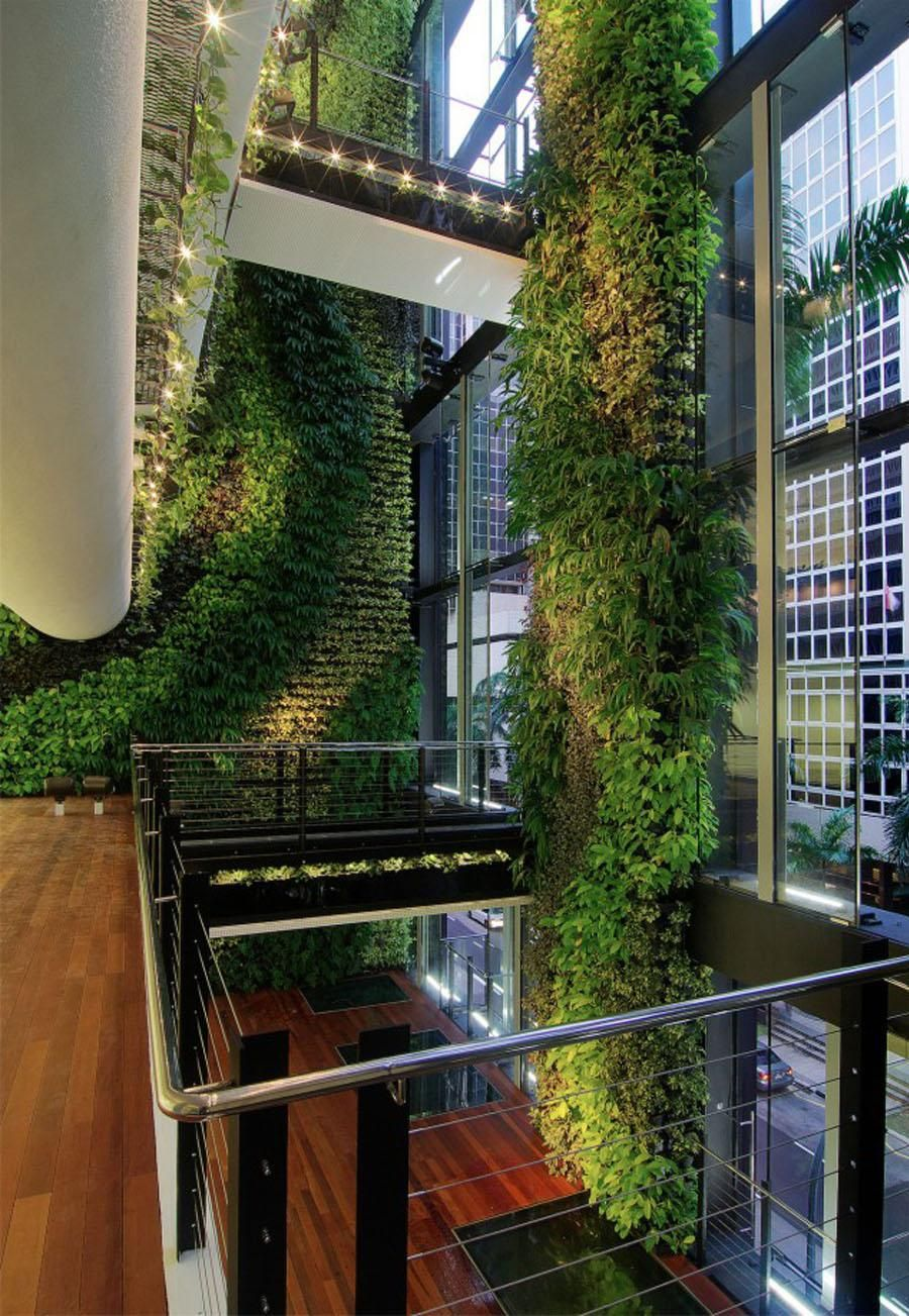 Boom jardines aqruitectura e interiores decohunter los for Disenar espacios interiores