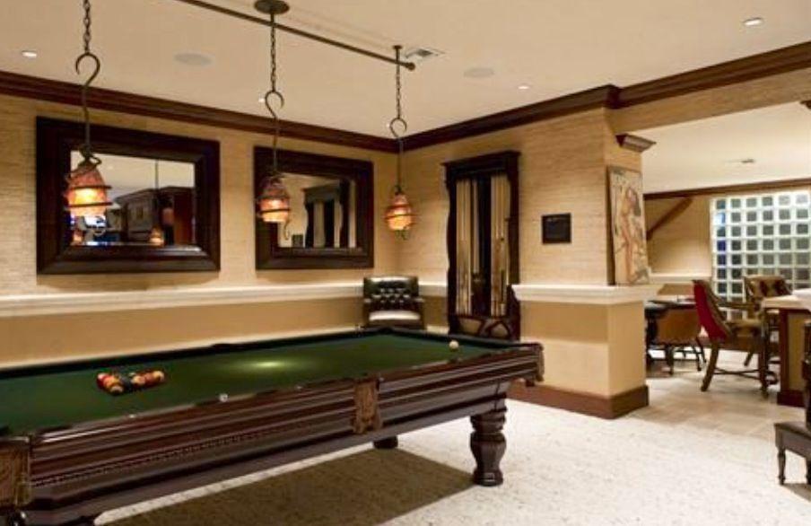 Man Cave Vero Beach : Pocket style billiard table home pinterest men cave