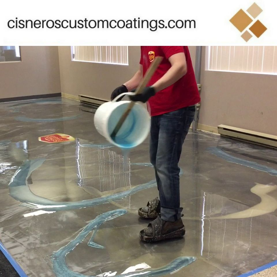 Epoxy Flooring Costs Advantages And Installation