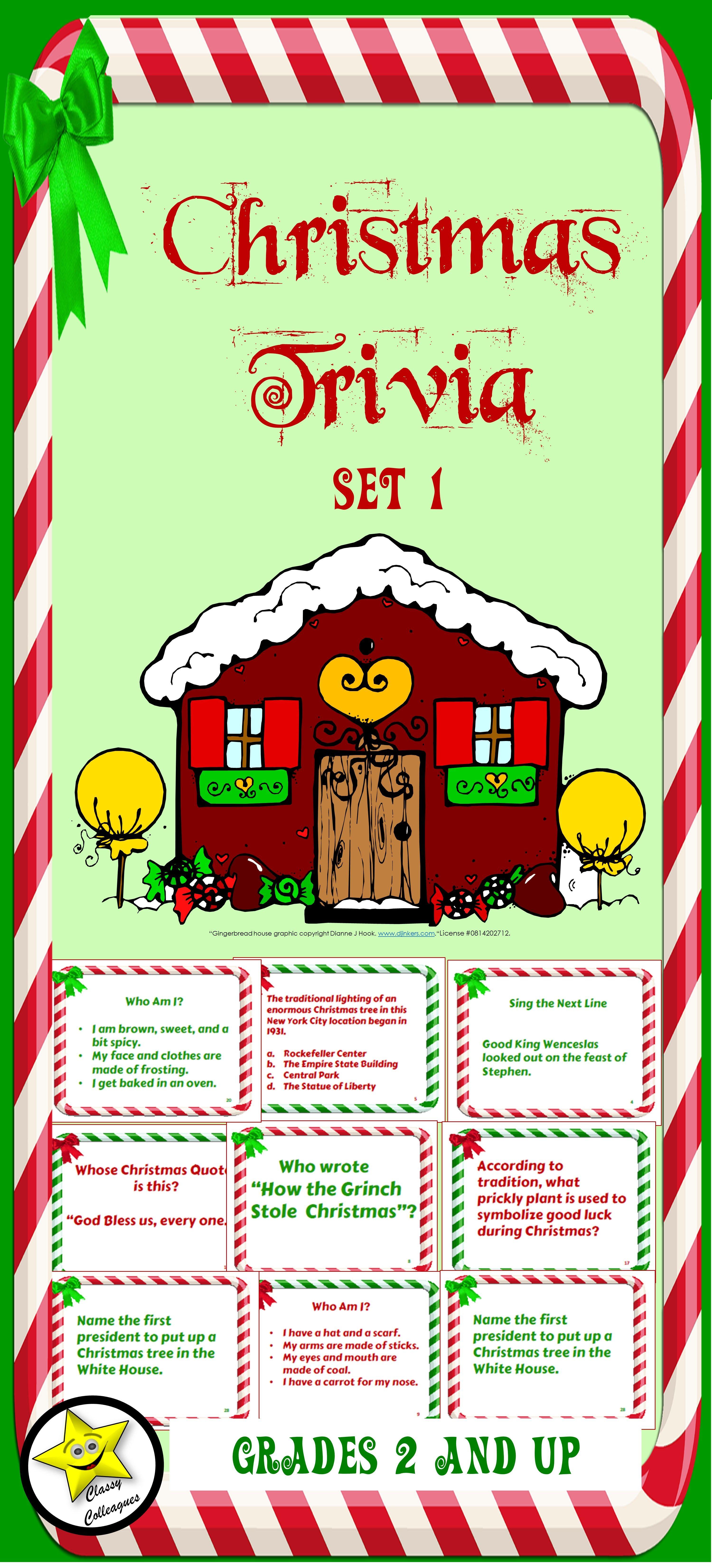 Christmas Trivia Set 1