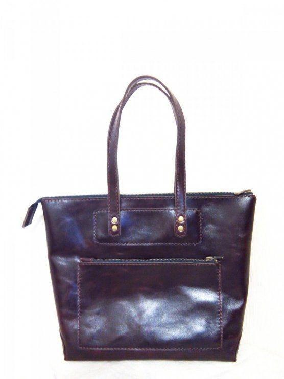195012cca256 Женская кожаная сумка - Каталог рукоділля #47676 | Сумки.Изделия из ...
