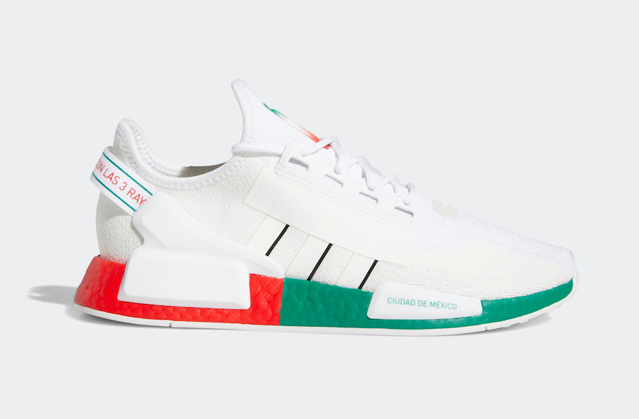 Adidas Nmd R1 V2 Mexico City Sale Price 105 Retail 140 Free Shipping Use Code Score At Checkout In 2020 Adidas Nmd Adidas Nmd R1 Adidas