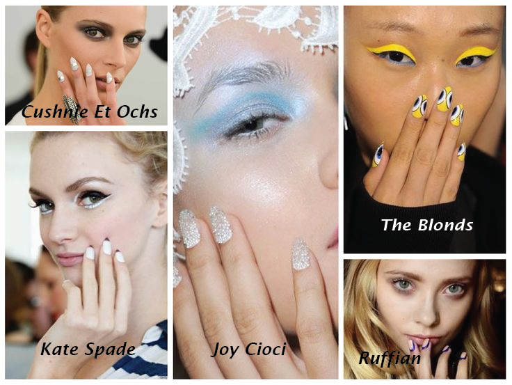 Best nails of #NYFW 2014