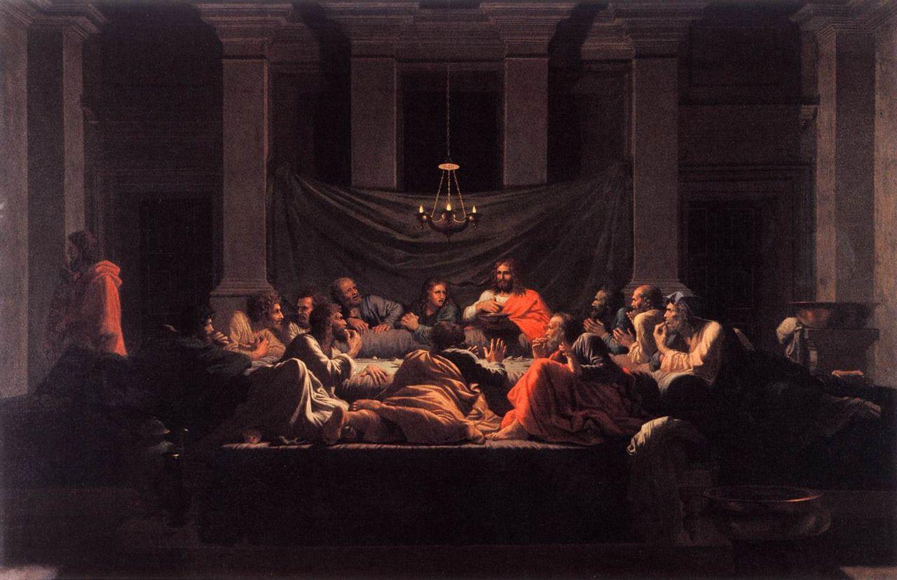 nicolas poussin seven sacraments eucharist