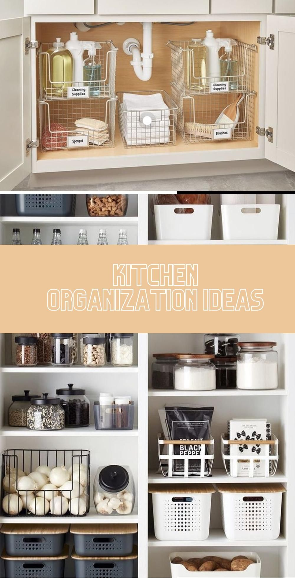 Simple Ways To Keep Your Small Pantry Organized Pantry Bin Kitchen Organization Small Storage Containers