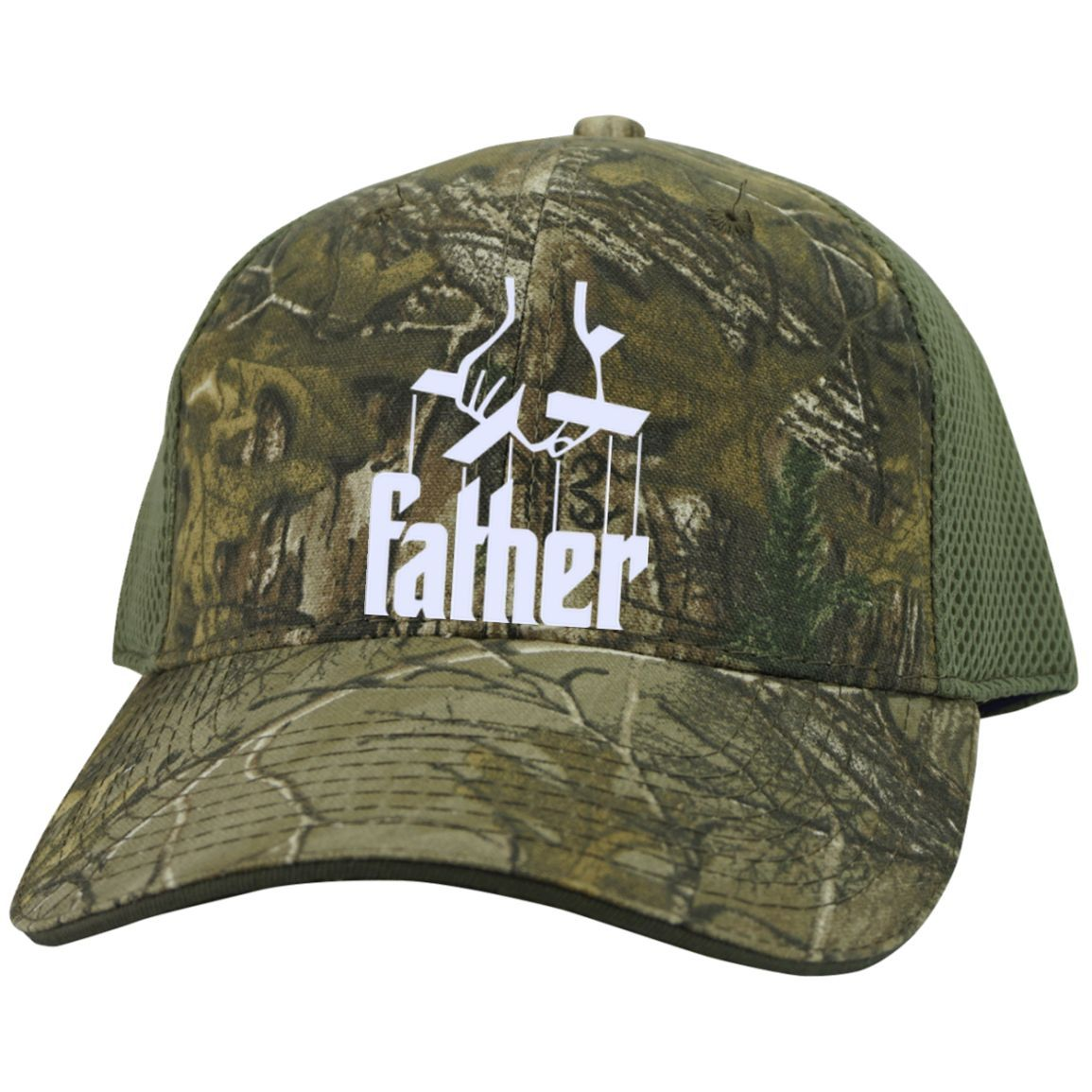 Father |Camo Cap with Mesh