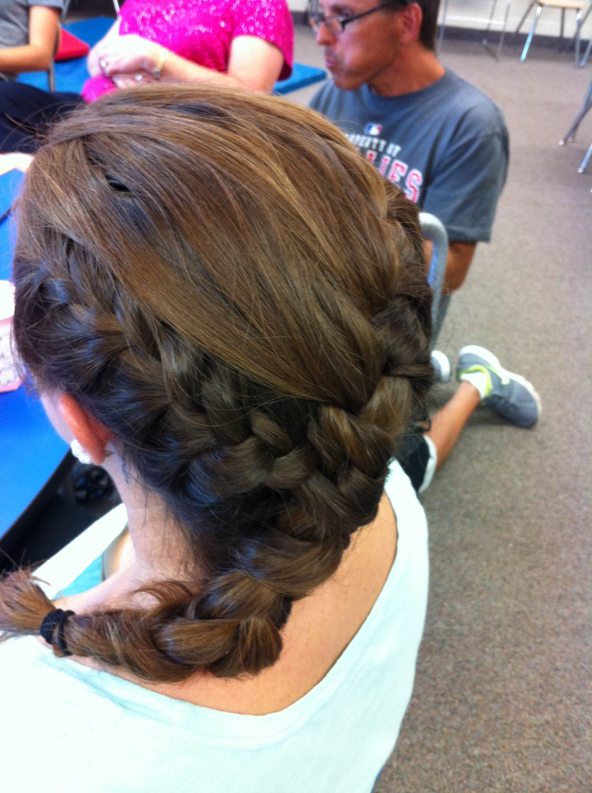 2 French Braids Connected Together Hair Styles French Braid Double French Braids
