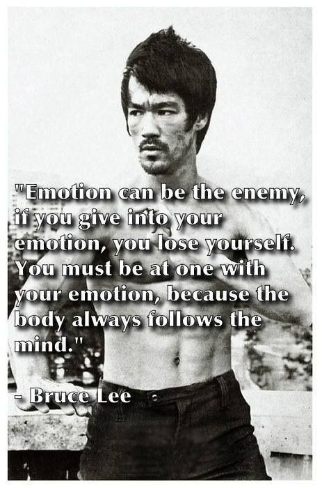 the body will always follow mind motivational quotes inspirational quotes bruce lee quotes