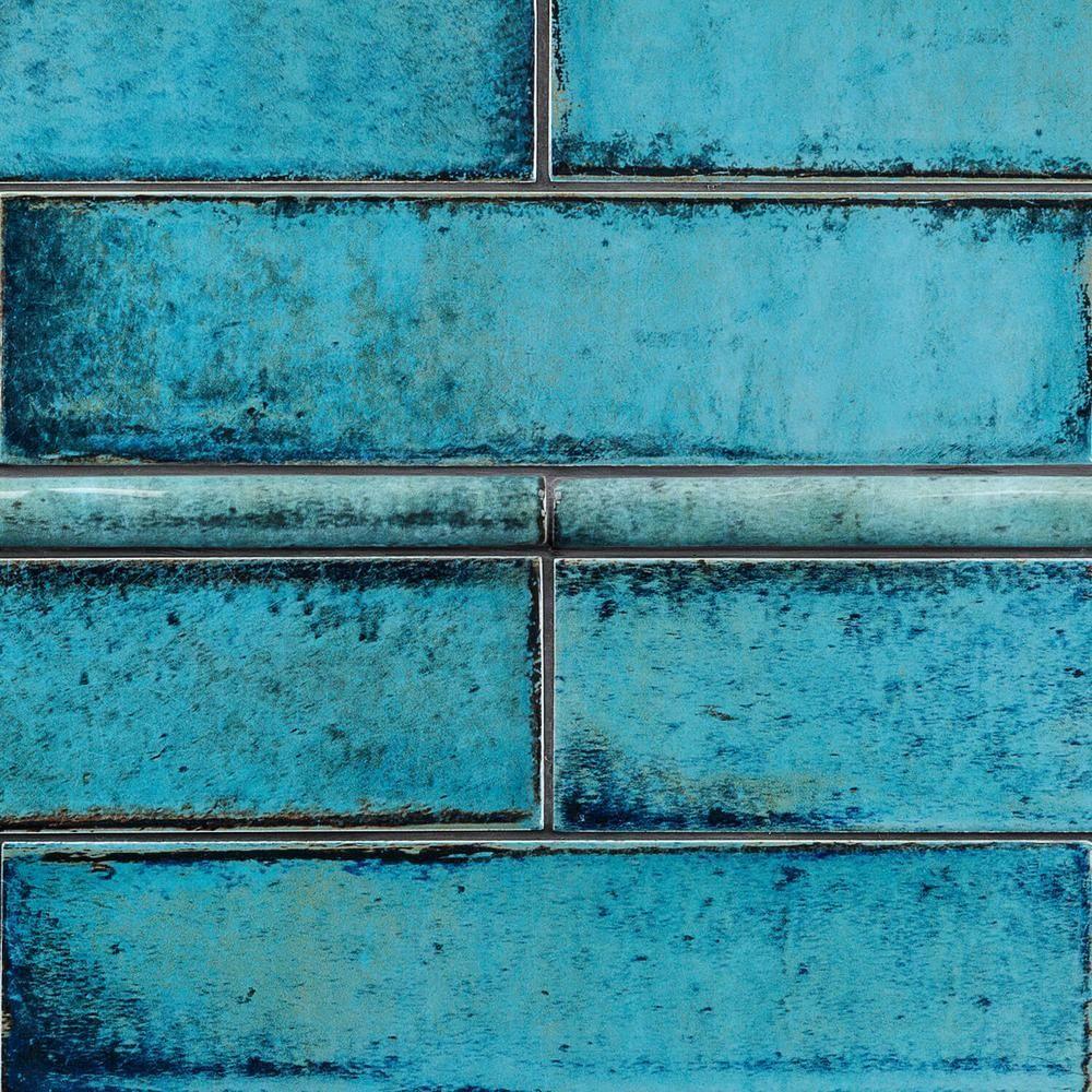 ivy hill tile moze blue 0 75 in x 12