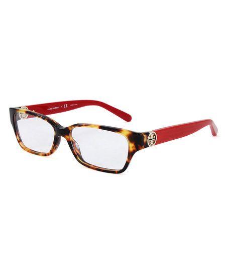 5f5a873db4 Tory Burch Vintage Tortoise   Spark Metal-Accent Eyeglasses