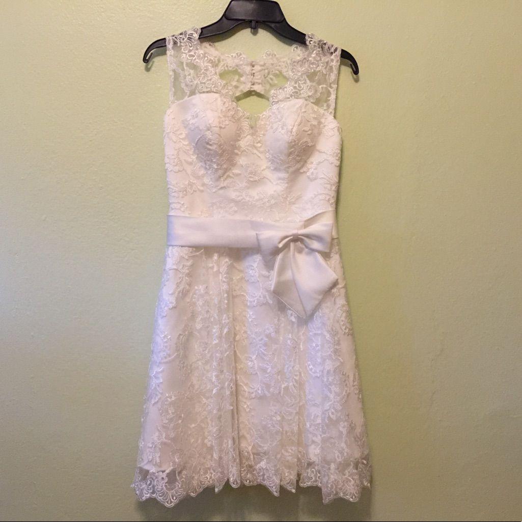 Lantesi Short Wedding Dress