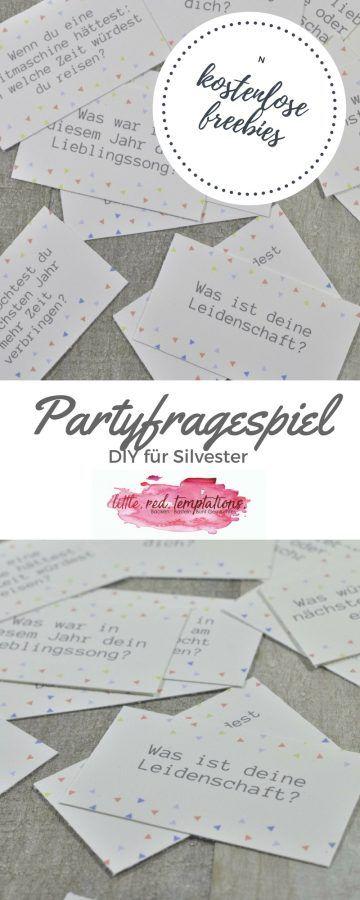 Partyfragespiel - Spaß für deine Gäste! - little. red. temptations.