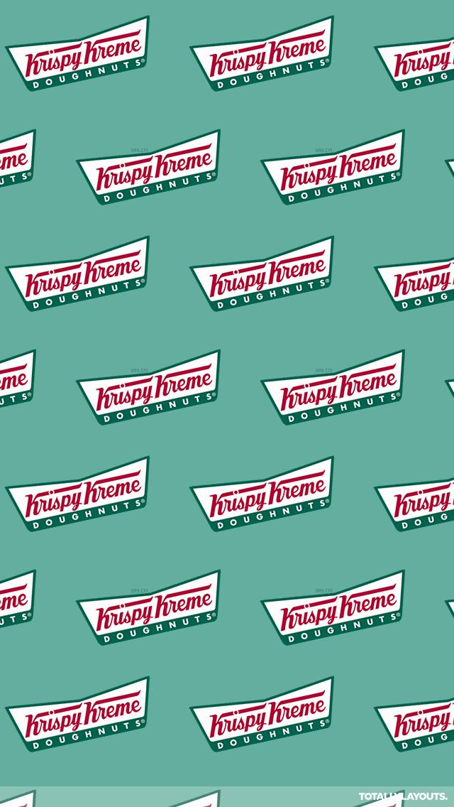 krispy_kreme Wallpaper Stickers, Cool Wallpaper, Iphone Wallpaper, Krispy Kreme Doughnut, Donut Company