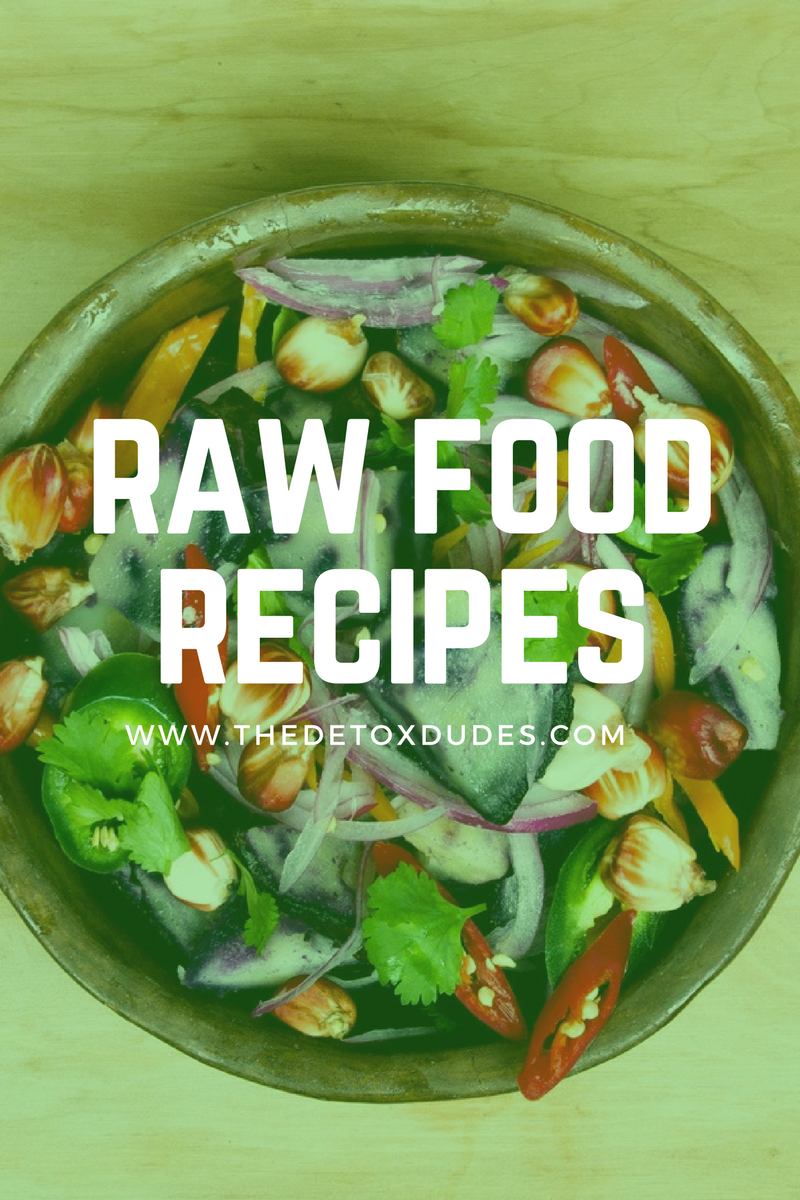 Pin by The Detox Dudes on Raw Food Recipes | Raw food diet, Raw food
