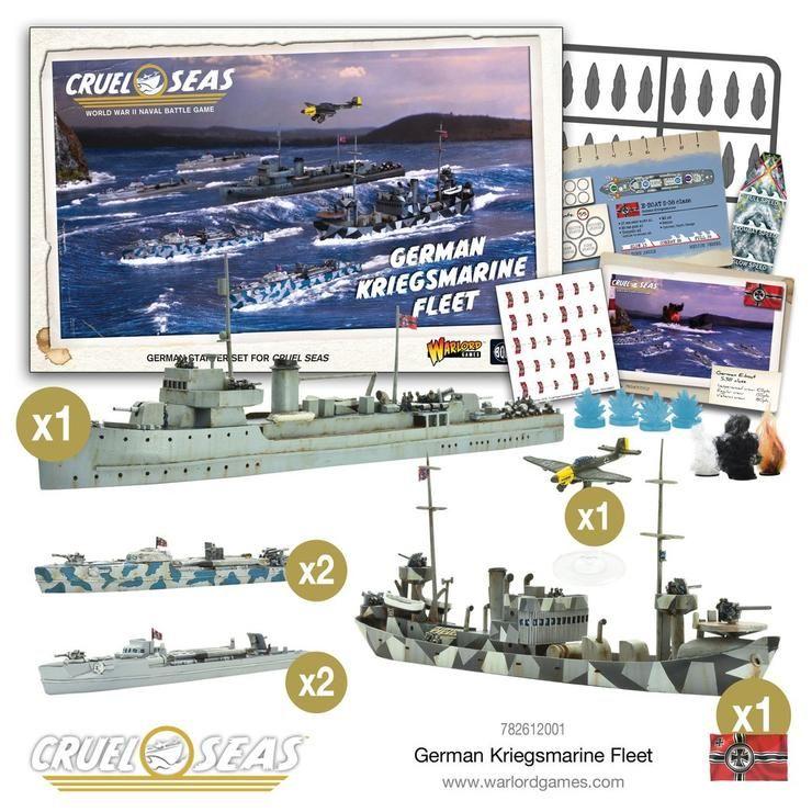 Cruel Seas-Imperial Japanese Navy Fleet