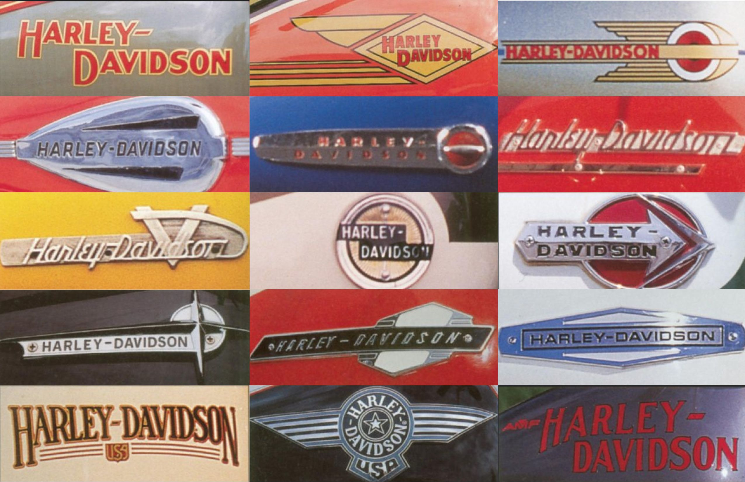 Hog Wild Harley Davidson Logos Through The Years Harley Davidson Logo Old Harley Davidson Harley Davidson