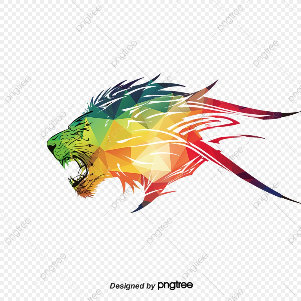 Lions Triangle Vector Lion King Triangle Clipart Vector Lions Lion Png Transparent Clipart Image And Psd File For Free Download Triangle Vector Colorful Lion Lion Art