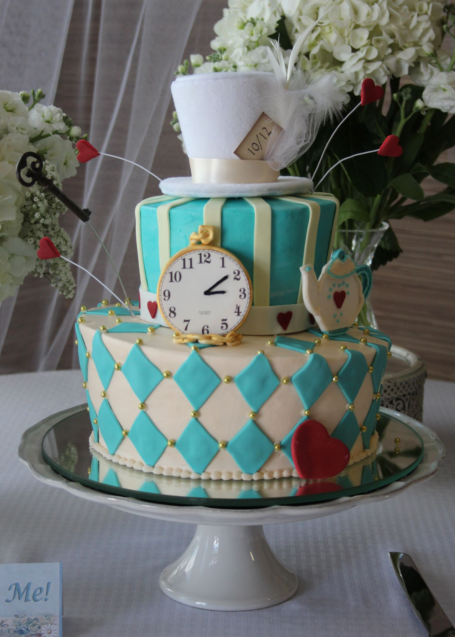 Alice In Wonderland Tea Party Tea Party Cake Mad Hatter Cake