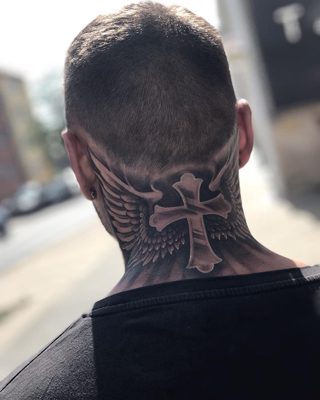 "☠︎Christian Berndt☠︎ on Instagram: ""✖️faith gives you wings✖️ . . . #inkedmen #faith #faithtattoo #faithful #religiontattoo #tattooed #tattoo #tattoos #tatts #inkedup…"" -  ☠︎Christian Berndt☠︎ on Instagram: ""✖️faith gives you wings✖️ . . . #inkedmen #fa - #Berndt #Christian #faith #faithful #faithtattoo #inkedmen #inkedup #Instagram #necktattoos #religiontattoo #sleevetattoos #strengthtattoo #Tattoo #tattoodesigns #tattooink #tattooed #Tattoos #Tatts #temporarytattoodiy #Wings"